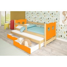 Double trundle Bed CAMPO