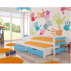 Double trundle Bed FRAGO