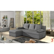 Corner Sofa Bed GINO in STOCK
