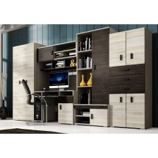Wall Unit with desk NELLY