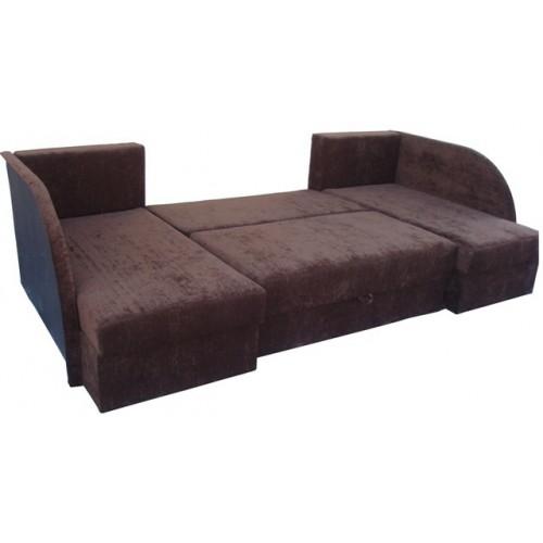 Bruno Horseshoe Corner Sofa Bed