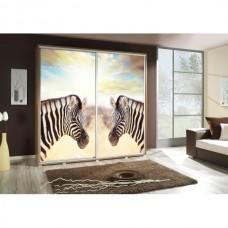 Wardrobe Penelopa 205 Zebra 3