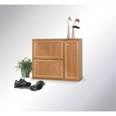 Shoe cabinet cart-door
