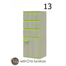 Chest of drawers 1D3D KLAUDIUSZ
