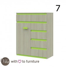 Chest of drawers 1D5D KLAUDIUSZ