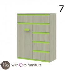 Chest of drawers 1D5D KLAUDIUSZ